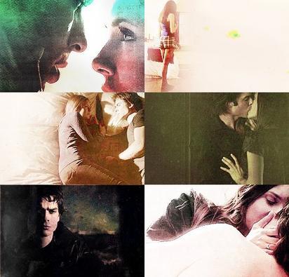The Vampire Diaries: Élena et Damon(Delena)