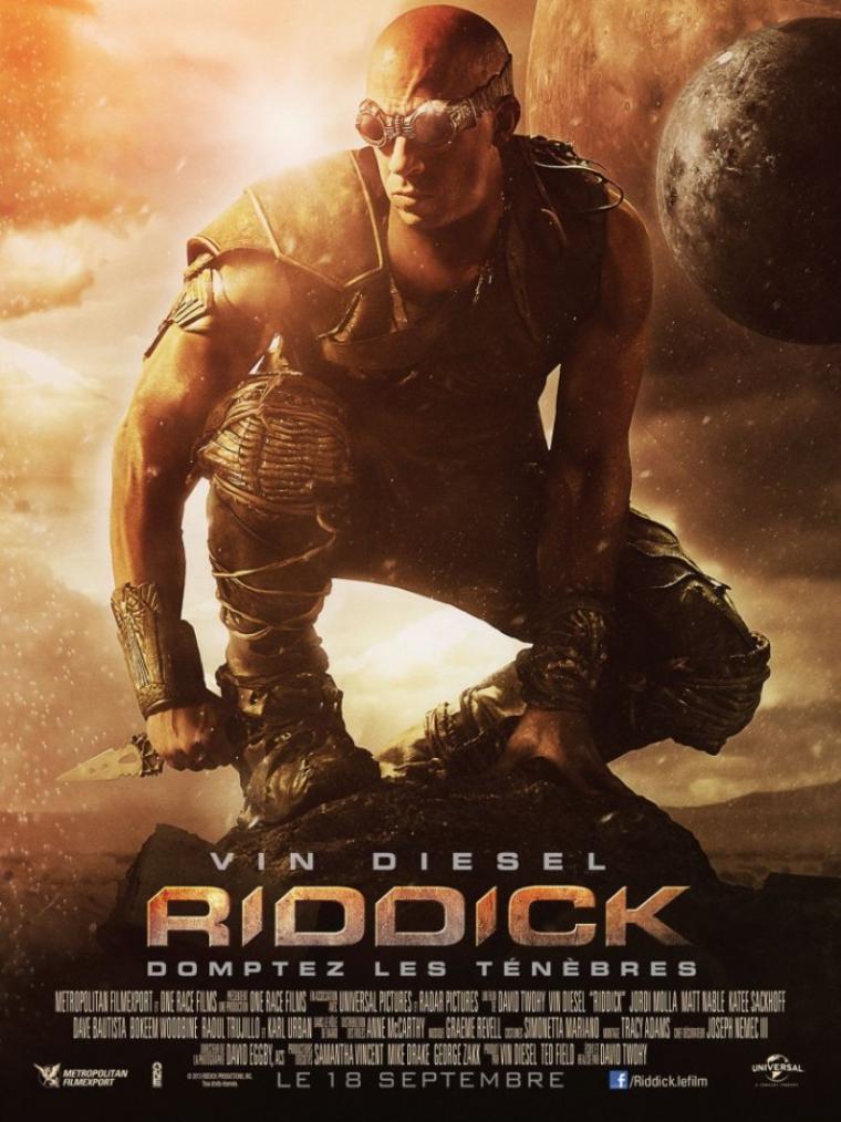Riddick comptez les ténèbres.