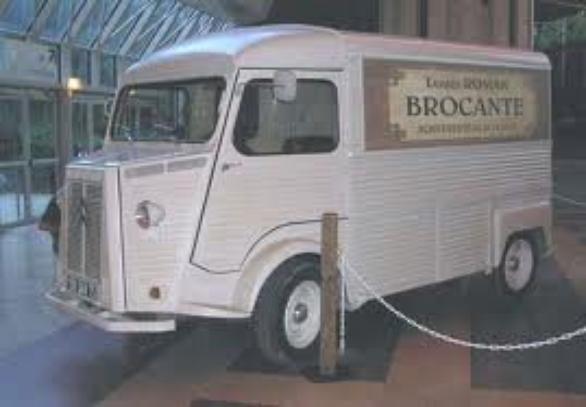 Citroën HY  Louis La brocante