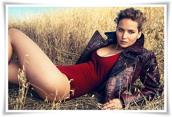 SPECIAL JENNIFER LAWRENCE- VOGUE US