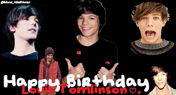 Happy Birthday Louis Tomlinson :D