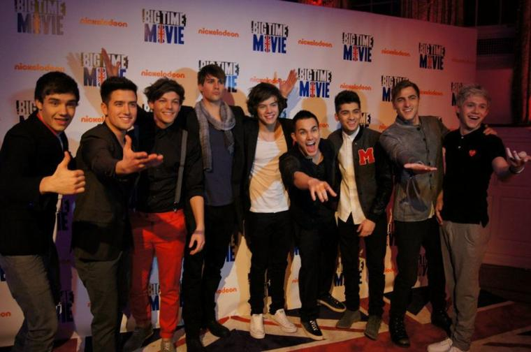 One Direction and Big Time Rush  ♥.