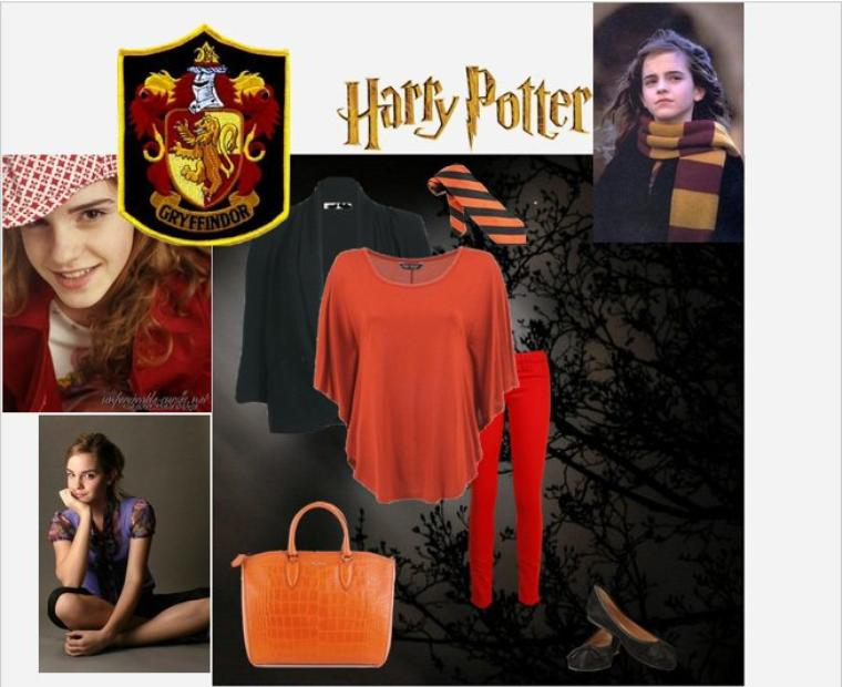 My favorite creation with fashion and Harry Potter