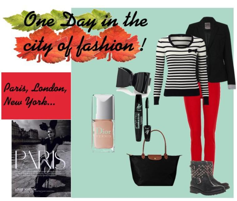 One day in the city of fashion !