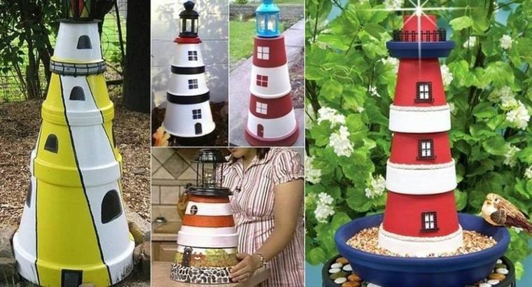 les phares pots de toutes les couleurs