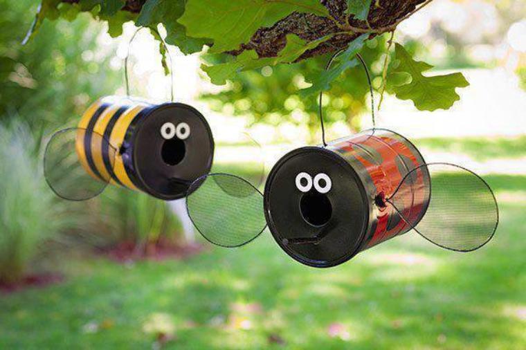 abeille et coccinelle conserves