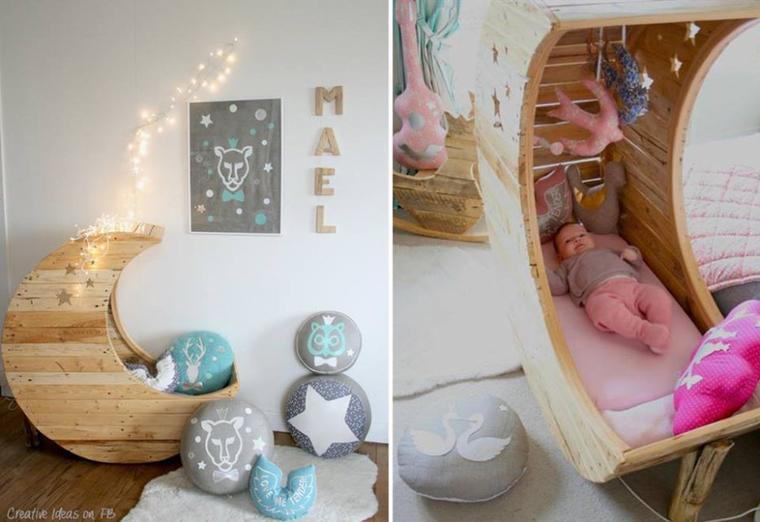 lit lune pour bébé
