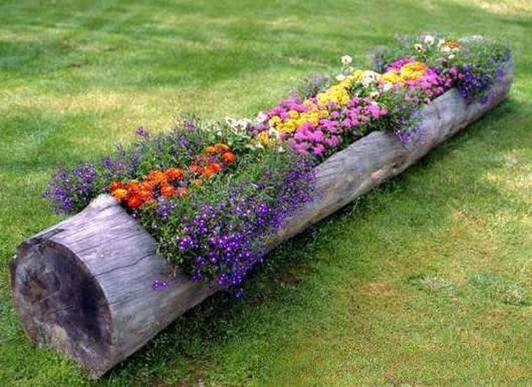 jardiniere tronc