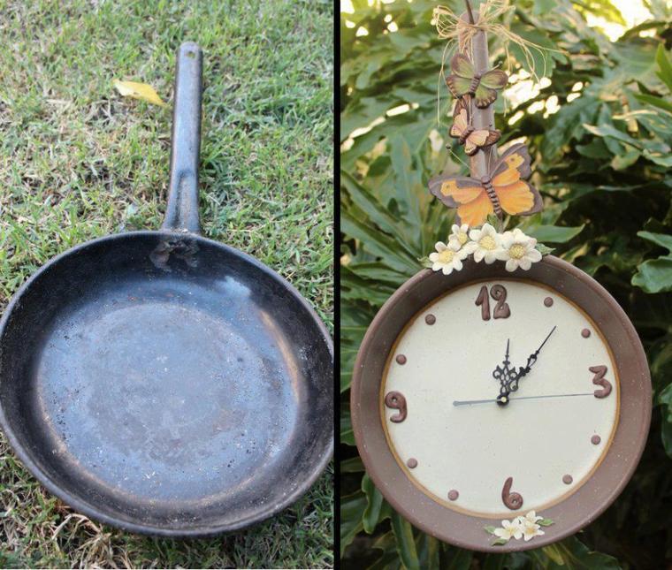 horloge poele