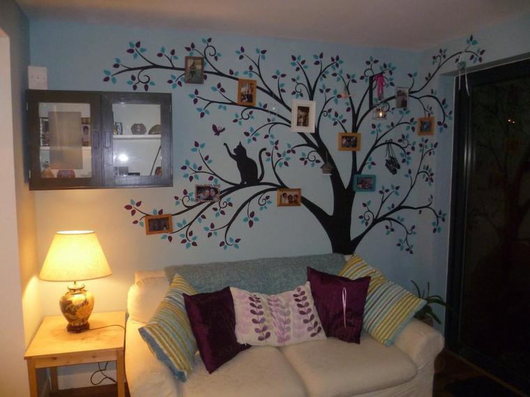 une  autre peinture arbre de famille