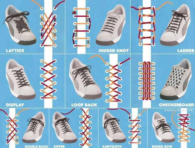 comment lacez vos chaussures