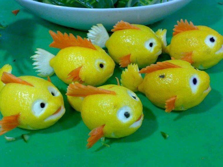 poissons citrons