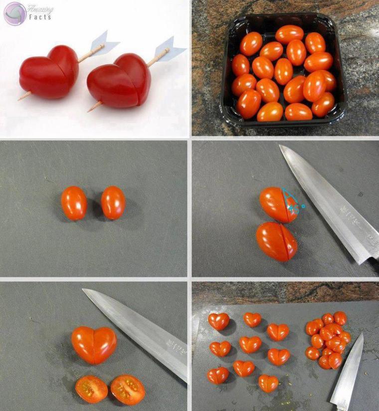deco coeur de tomates
