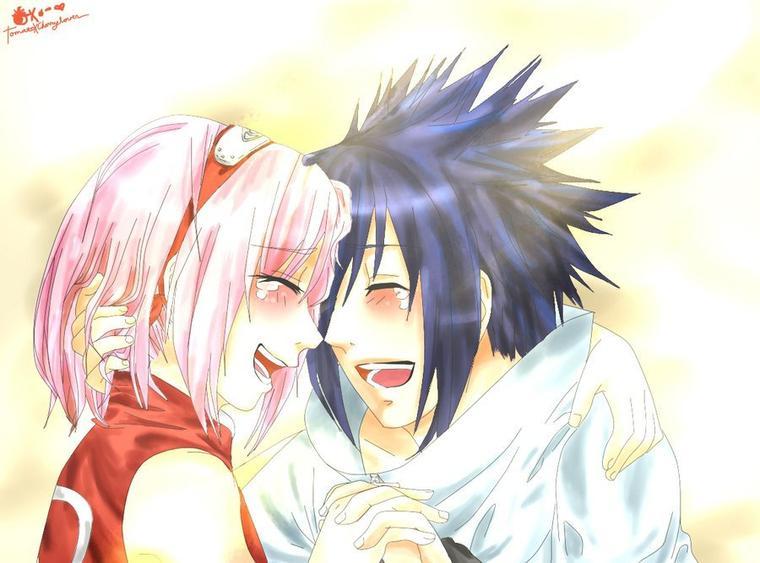 Enfin [Sasuke & Sakura]