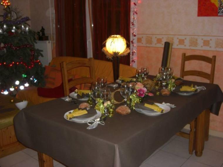 Il ne suffit pas des fois de préparer des bons plats, une belle table aide à les mettre en valeurs