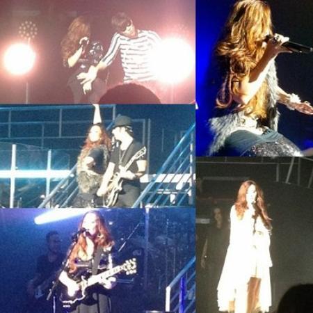 Le 19/11/2011 Demi à fait un concert à Hershey (désolé pour la qualité des photos)