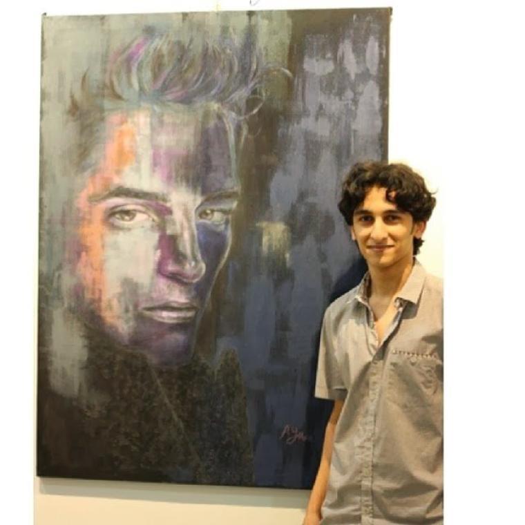 Rob a inspiré un Artiste de 17 ans pour une ¼uvre d'Art