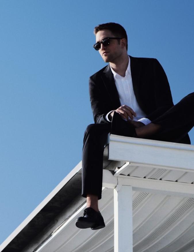 Nouvelle affiche Robert Pattinson pour Dior Homme Cologne