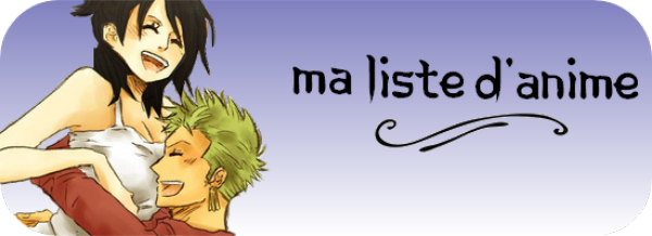 Liste d'anime/manga