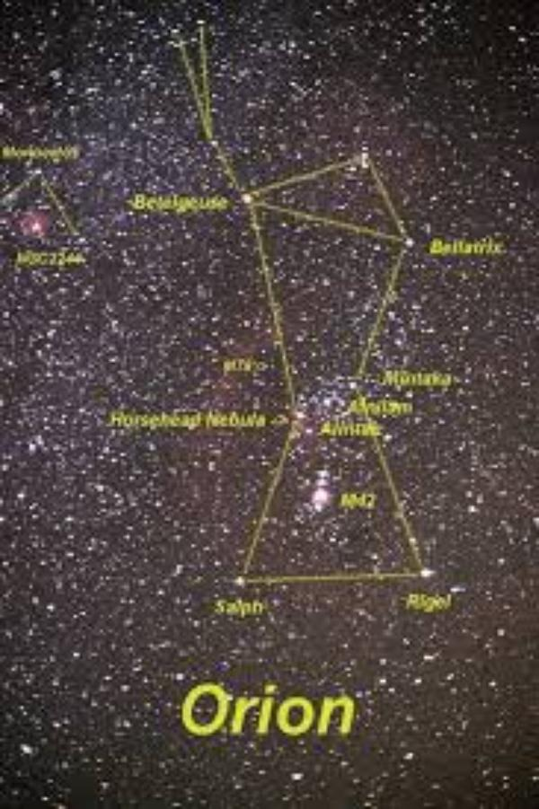 étymologie d'Orion (l)