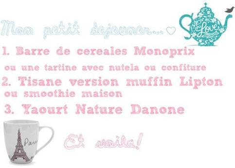 ▲ ▲❤  Morning routine pour les cours n°1 ❤  ▲ ▲
