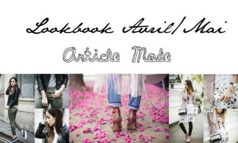 Lookbook Avril/Mai