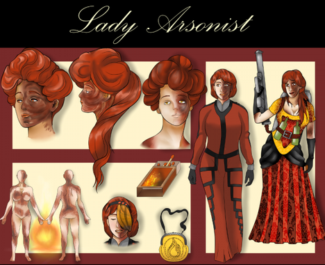Lady Arsonist (Horreur, Creepypasta)
