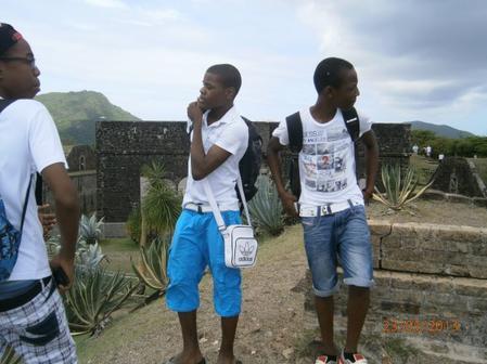 Kilou, Mimik & Yannou (aux Saintes)