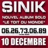 Sinik - de tout la haut (en exclu !!!)