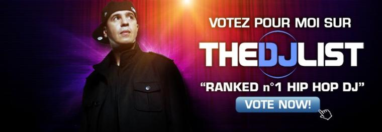 VOTEZ DJ CUT KILLER @ THE DJ LIST
