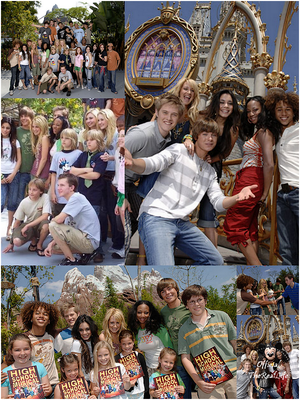 © Official-TheRealLife™  07/04/2006  ※  Zac et Vanessa au Disney Expedition Everst Ride Opening en Californie.  _