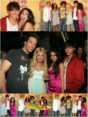 © Official-TheRealLife™  20/08/2006  ※   Zac et Vanessa au Teen Choice Awards 2006.  _