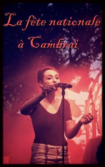 Concert ; Le 14.07.12 à Cambrai pour la fête nationale