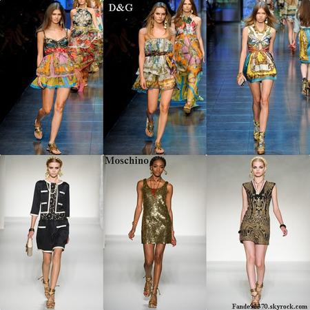 Fashion week Londres & Milan, P-A-P printemps-été 2012: coup de coeur ♥
