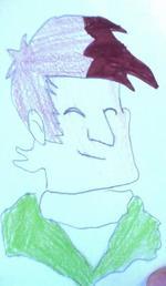 Petit montage avec des dessins de moi