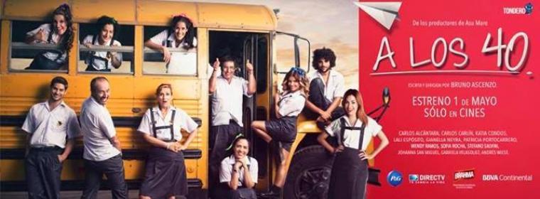Le vidéo-clip promotionnelle de A Los 40 et les affiches..