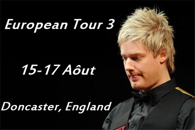 European Tour Event Three