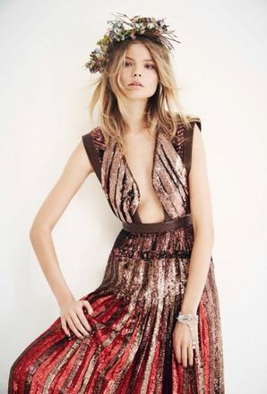 Magdalena Frackowiak, Vogue China juin 2014.