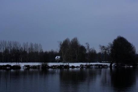 Un Village sous la neige !