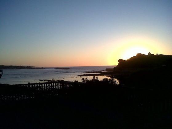 Coucher de soleil à Saint Jean de Luz !