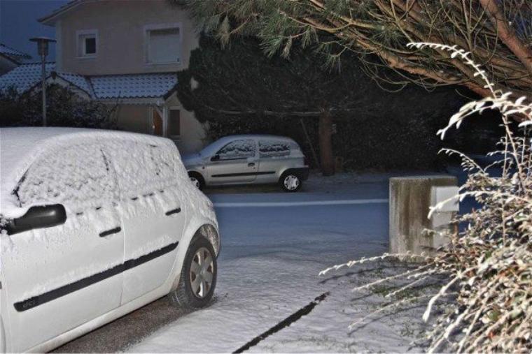 La neige est un cadeau de Dieu ...