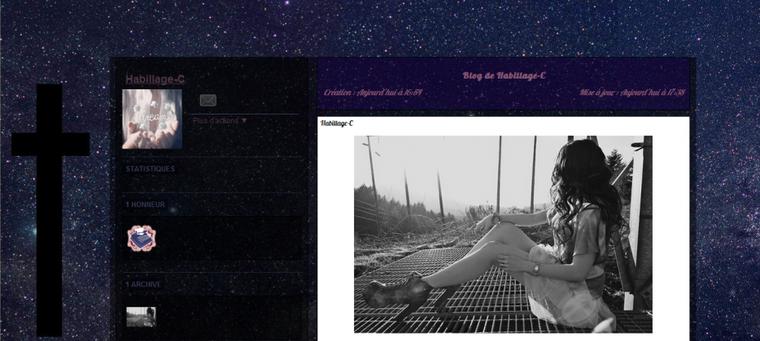 Habillage n°3 : Théme : Galaxy