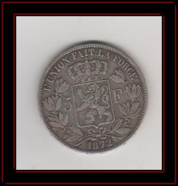 5 francs Léopold 2