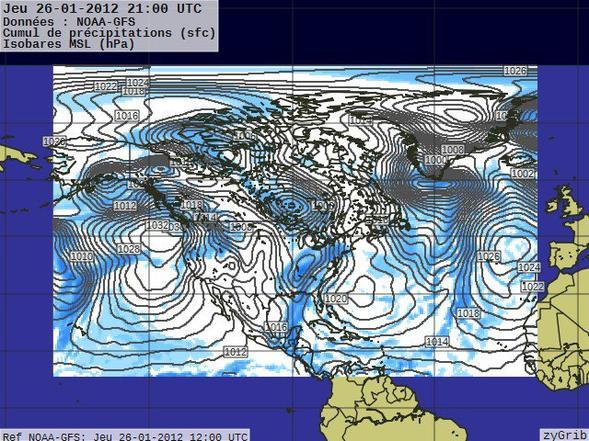 Prévisions du 27 janvier 2012