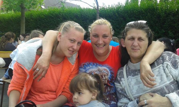 ma s½ur et moi et ma maman et ma fille