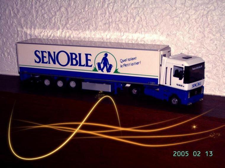 le tout premier camion de ma collection un renault magnum AE 500 frigo SENOBLE