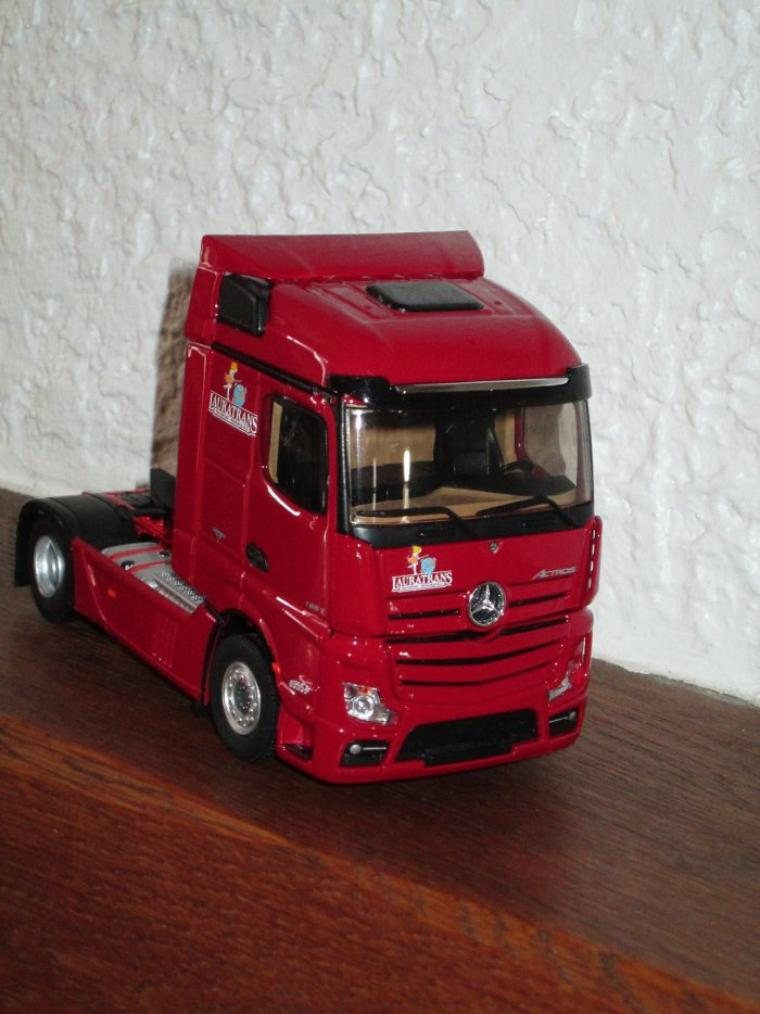 MERCEDES ACTROS  streamspace LAURATRANS