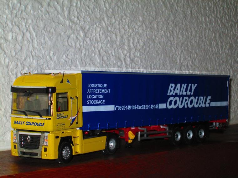 RENAULT MAGNUM 2008 SEMI TAUTLINER BAILLY-COUROUBLE
