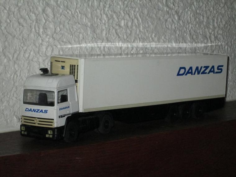 RENAULT R 350 SEMI FRIGO DANZAS