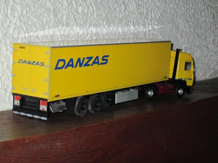 RENAULT R 350 SEMI FRIGO CHEREAU DANZAS